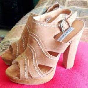 steve nadden ricki  platform heels